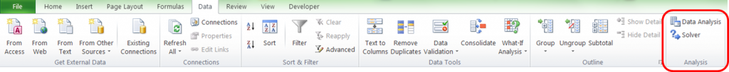 How to add Excel Solver to ribbon