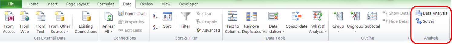 How to add Excel Solver to the Excel ribbon